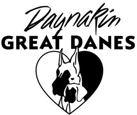 Daynakin Great Dane logo